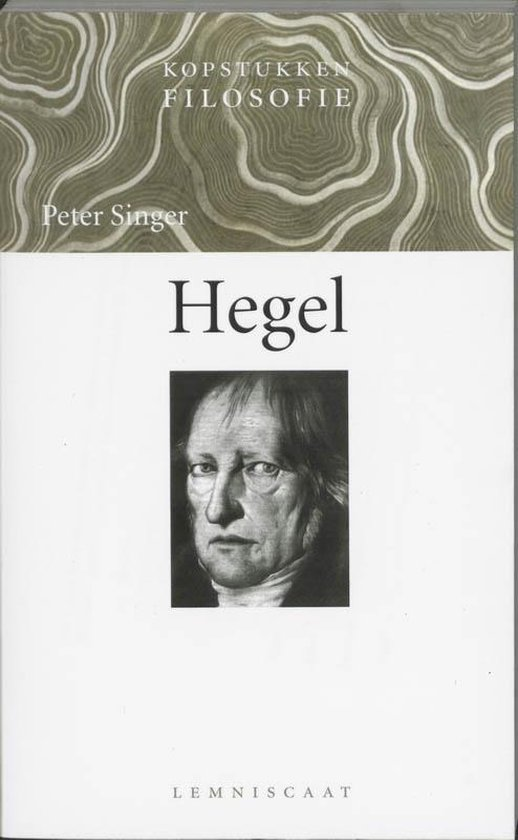 Boek cover Hegel van Peter Singer (Paperback)