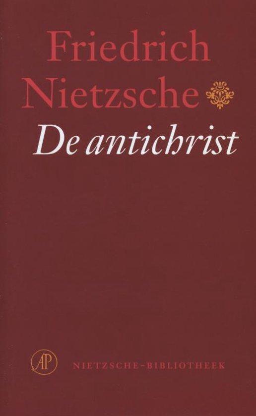 Boek cover De antichrist van Friedrich Nietzsche (Onbekend)