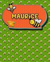 Handwriting Practice 120 Page Honey Bee Book Maurice