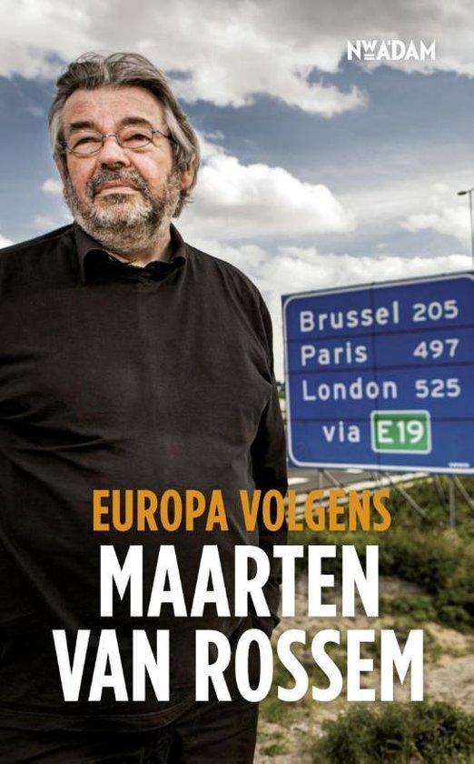 Boek cover Europa volgens Maarten van Rossem van Maarten van Rossem (Onbekend)