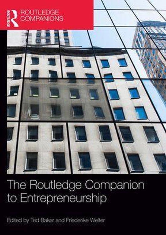 The Routledge Companion to Entrepreneurship