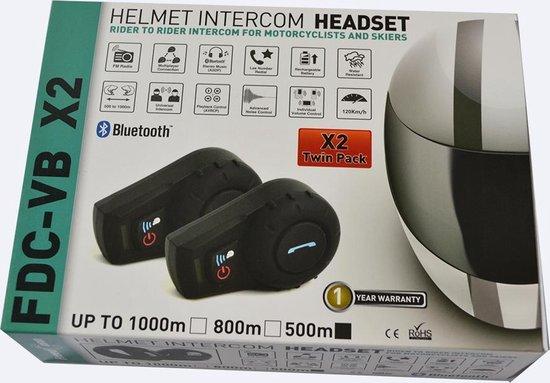 FDC Electronics FDC-01  - Motor communicatiesysteem - Bluetooth - 500 Meter - 2 Stuk(s)