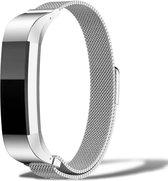 Milanees Fitbit Alta / Alta HR Bandje – Small Armband - Zilver