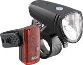 AXA Greenline 15 Fietsverlichtingsset - 15 lux - USB - LED