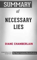Boek cover Summary of Necessary Lies van Paul Adams