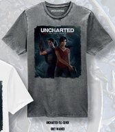 Uncharted - The Lost Legacy Cover Men T-Shirt - Heather Grey - S