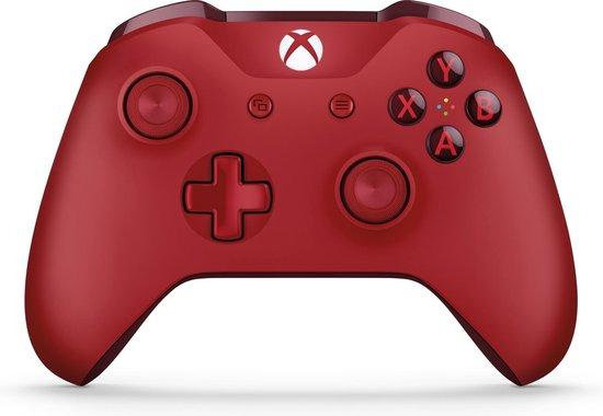 Afbeelding van Xbox One draadloze controller - rood