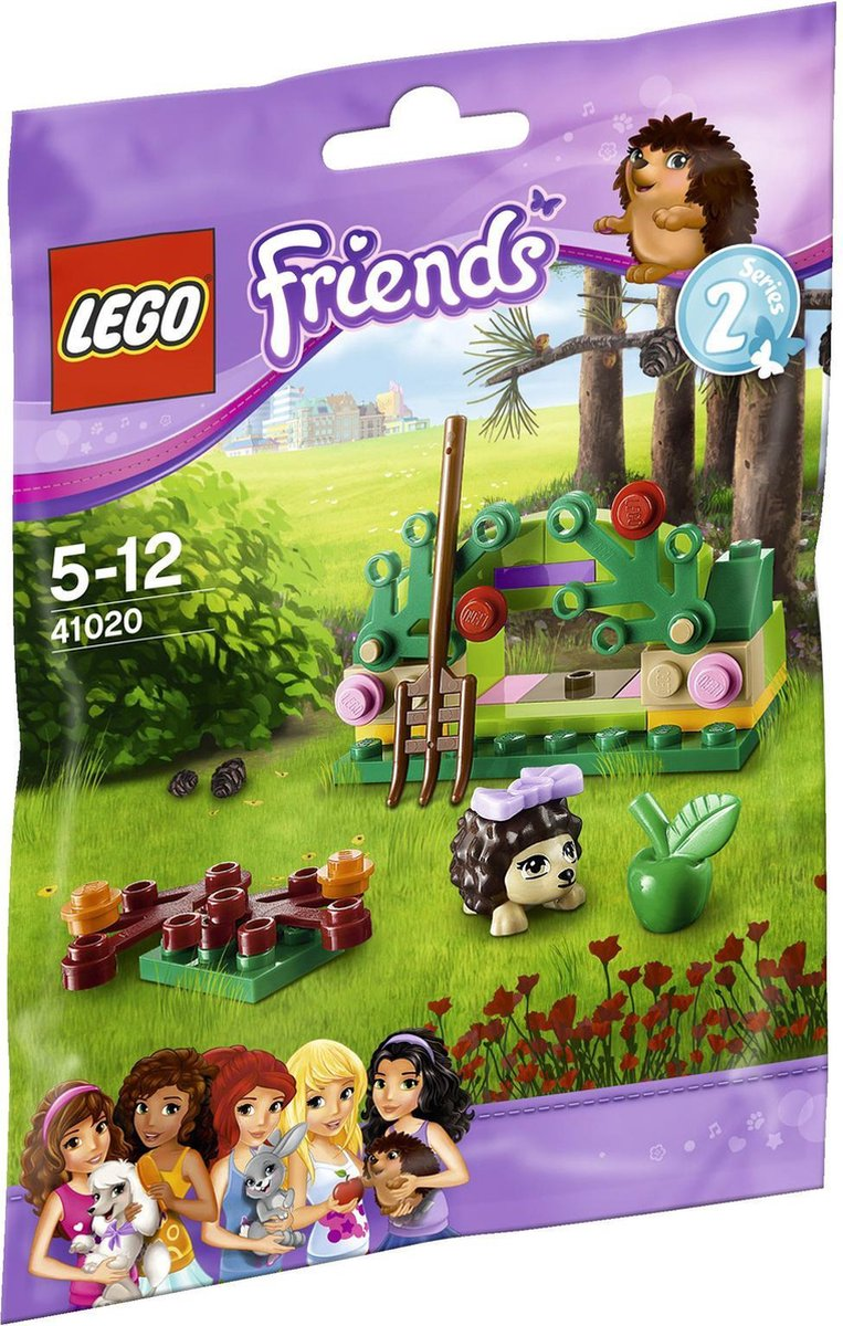 LEGO Friends De Schuilplaats van Egel - 41020