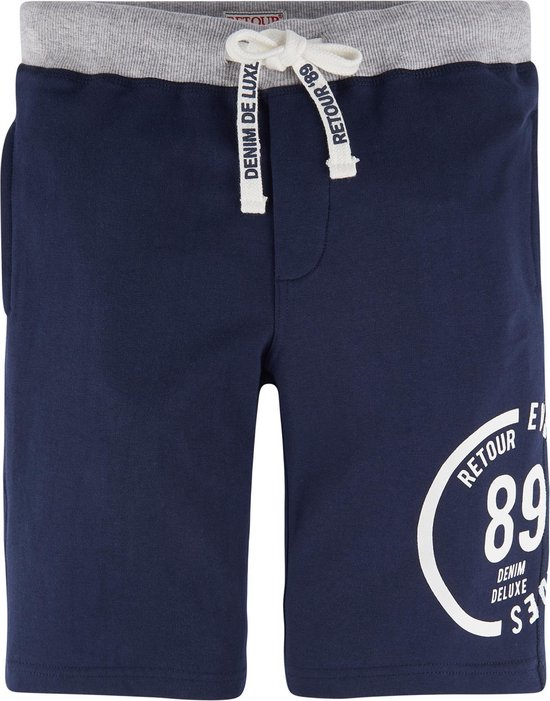 Retour Jeans Jongens Short Dark Indigo Blue Maat 104