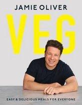 Boek cover Veg van Jamie Oliver (Onbekend)