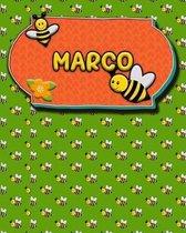 Handwriting Practice 120 Page Honey Bee Book Marco