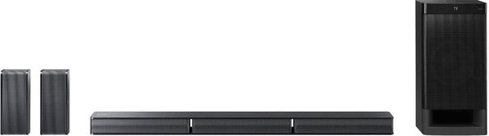 Sony HT-RT3 - 5.1 Home cinema soundbar met subwoofer - Zwart