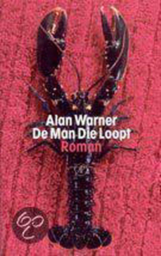 Cover van het boek 'De man die loopt' van Alan Warner