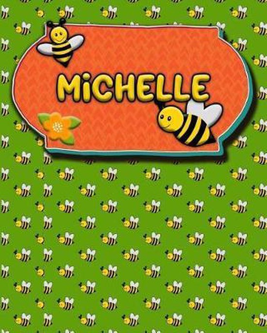 Handwriting Practice 120 Page Honey Bee Book Michelle