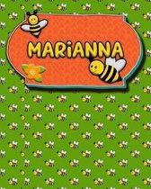 Handwriting Practice 120 Page Honey Bee Book Marianna