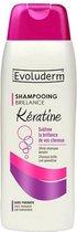 Evoluderm Keratine Shampoo 300ml 0% parabenen