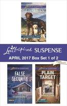 Harlequin Love Inspired Suspense April 2017 - Box Set 1 of 2