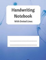 Handwriting Notebook With Dotted Lines