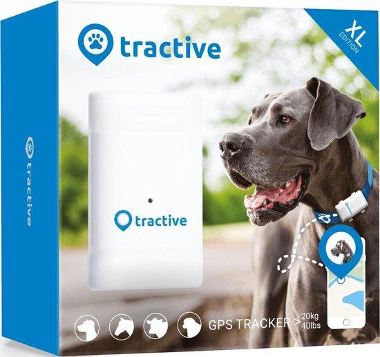 Tractive GPS huisdieren tracker voor grote honden – GPS  tracker hond