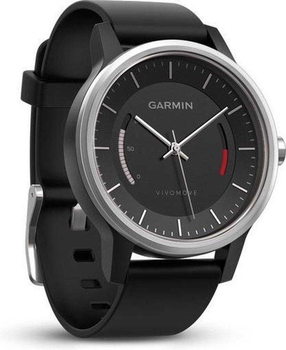 Garmin vivomove Sport zwart met sportarmband - Garmin