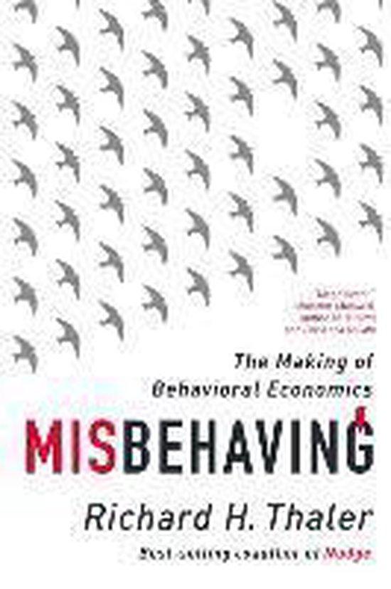 Boek cover Misbehaving van Richard H. Thaler (Paperback)