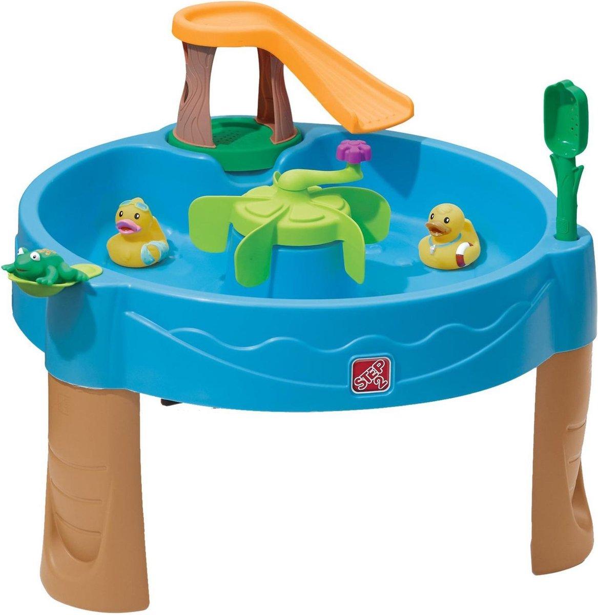 Step2 Watertafel Duck Pond - Incl. eendjes, spuitende kikker, schep en flipper