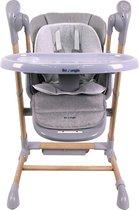 B-Swinging High Chair Woord Grey