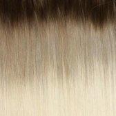 Bighair Clip-in Extension Ombre Donker Asblond/Platina Blond T10/613# 8 banen - 50cm - 150gram