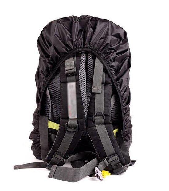 Flightbag – Regenhoes - Regencover voor Backpack 44-55L - Zwart - Sunflake