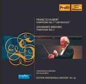 Schubert: Symphony No. 7; Brahms: Symphony No. 3