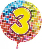 Folie ballon 3 jaar