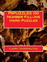 Pspuzzles 100 Number Fill-Ins Hard Puzzles