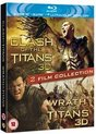 Clash Of The Titans & Wrath Of The Titans (3D Blu-ray) (Import)