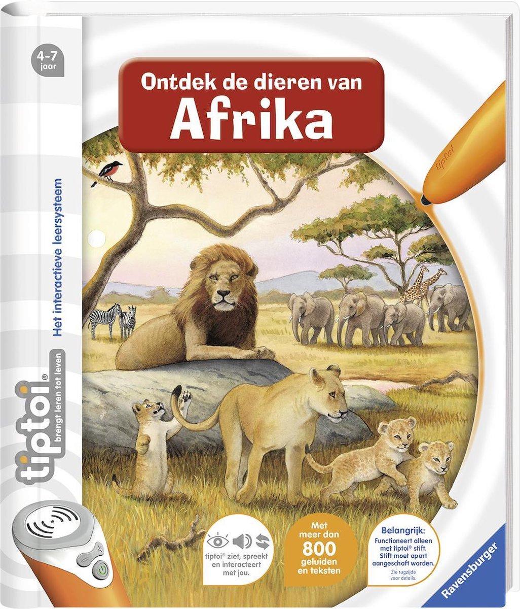 tiptoi® boek Ontdek de dieren in Afrika - Schrijver