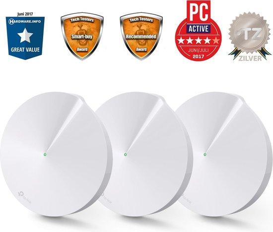 TP-Link Deco M5 - Multiroom Wifi Systeem / Mesh Wifi - Triple Pack