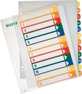 Leitz PC Printbare Index - PP - A4+ - 12 tabs