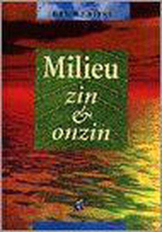 MILIEU ZIN EN ONZIN - H.J. Beens |