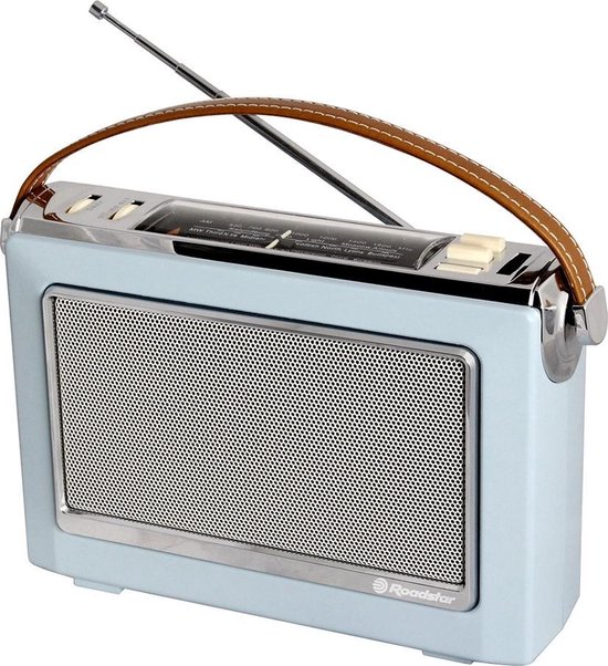 Roadstar TRA-1966-BL Radio Sky Blue