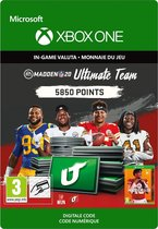 Madden NFL 20: MUT 5850 Madden Points Pack - Xbox One Download