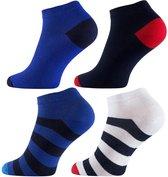 "4- pack Vincent Creation® Men Sneaker sokken ""maritime"""