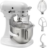 KitchenAid Heavy Duty 5KPM5EWH - Keukenmachine - Wit