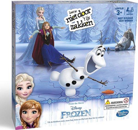 Frozen Laat Ze Niet Door Het IJs Zakken – Actiespel