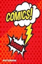 Comics boom Notebook