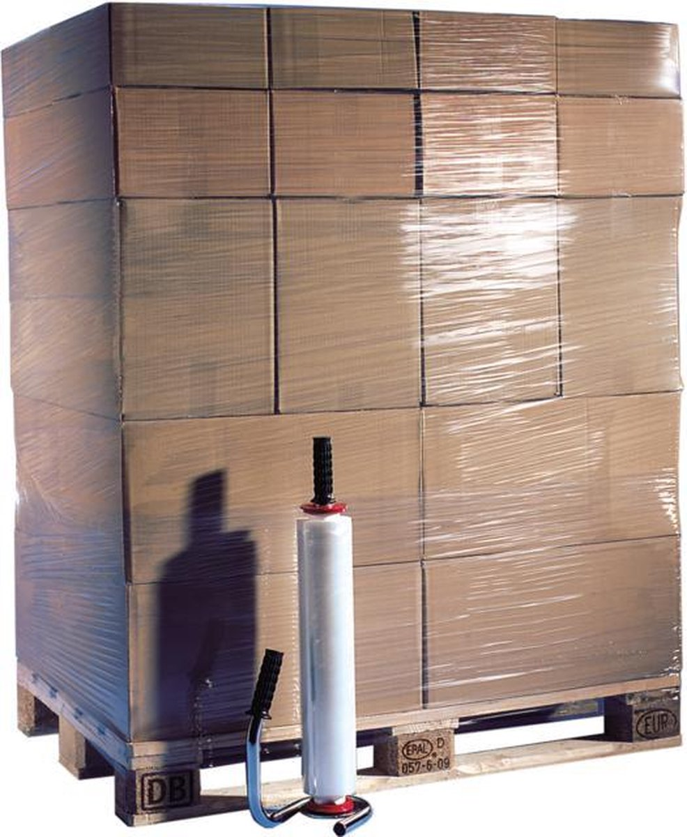 Profipack Wikkelfolie transparant - 50cm x 300m x 23 my - per rol