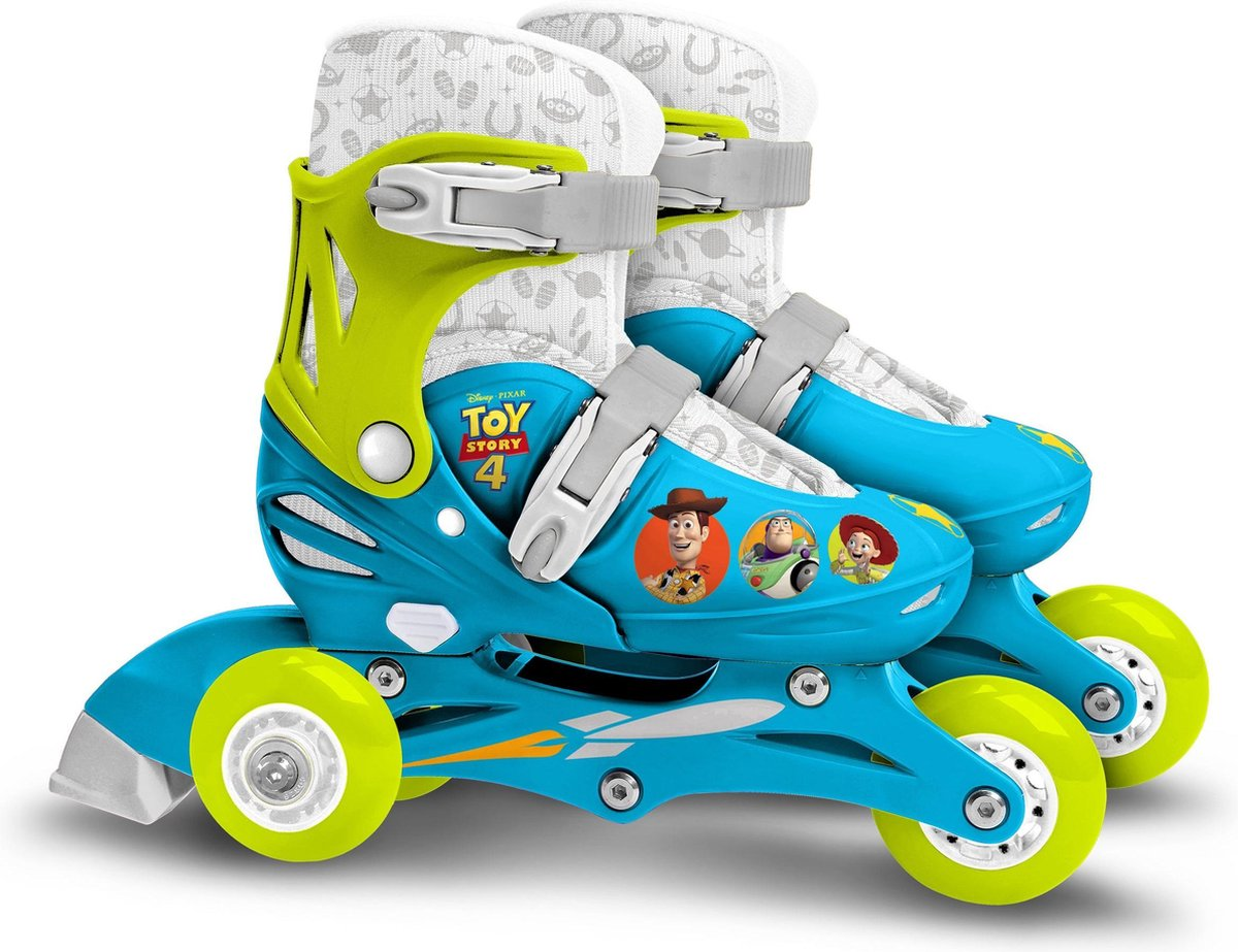 SPEELGOED VERHAAL 4 Inline Skates 2 in 1 - Three Wheels 27-30