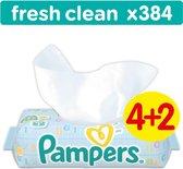Pampers Fresh Clean Billendoekjes - 384 Stuks