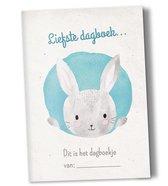 Heen en weer boekjes voor kinderopvang Creche -en oppasboek 2 stuks met konijntje