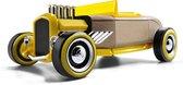 Automoblox: Mini HR-2 Hotrod Roadster - Geel