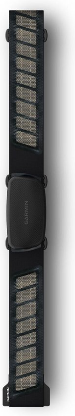 Garmin Hartslagsensor HRM-Dual - Comfortabele instelbare band - Zwart - Bleutooth