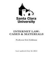 Internet Law Cases & Materials (2015)